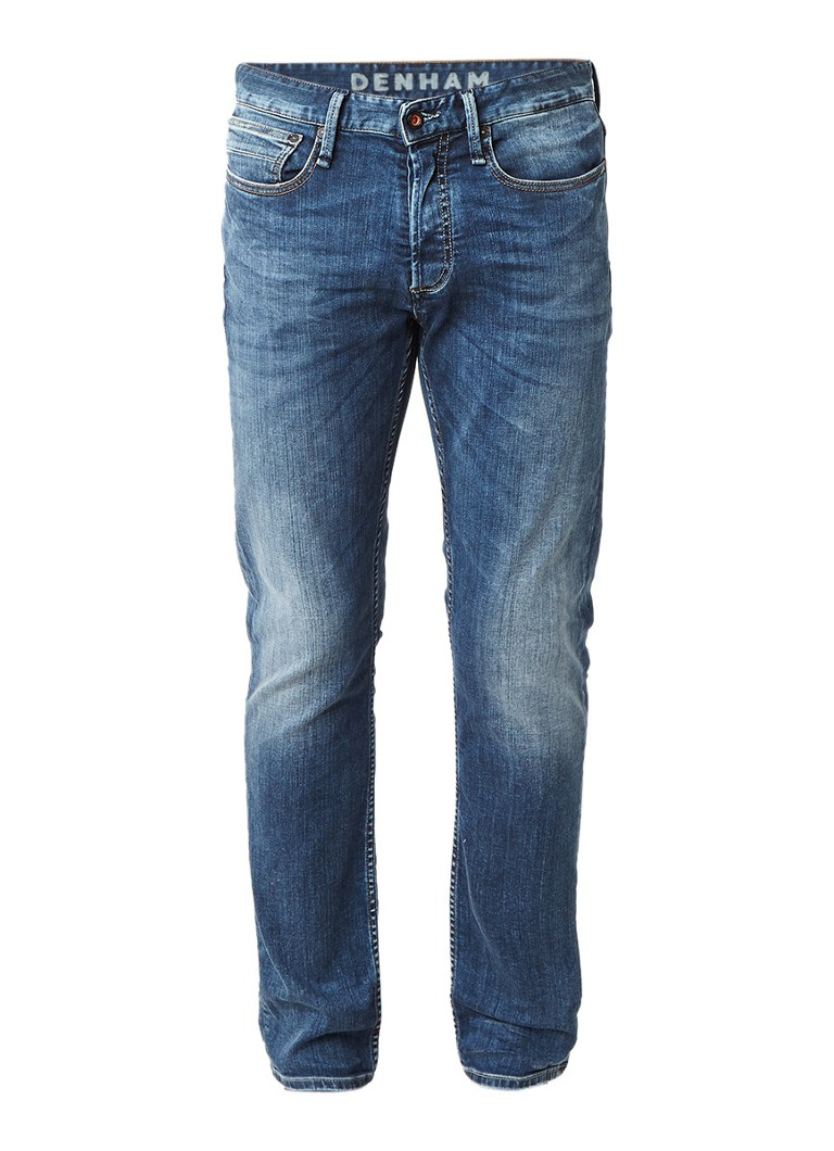 Denham Razor slim fit jeans met faded look