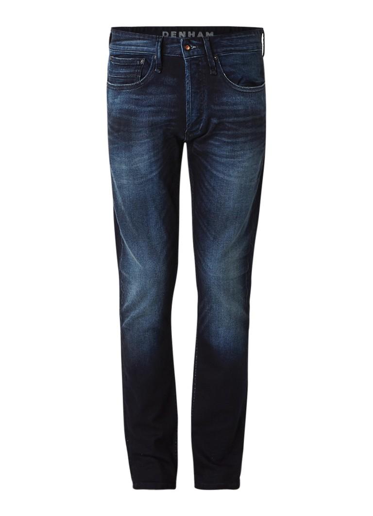 Denham Razor slim fit jeans met donkere wassing