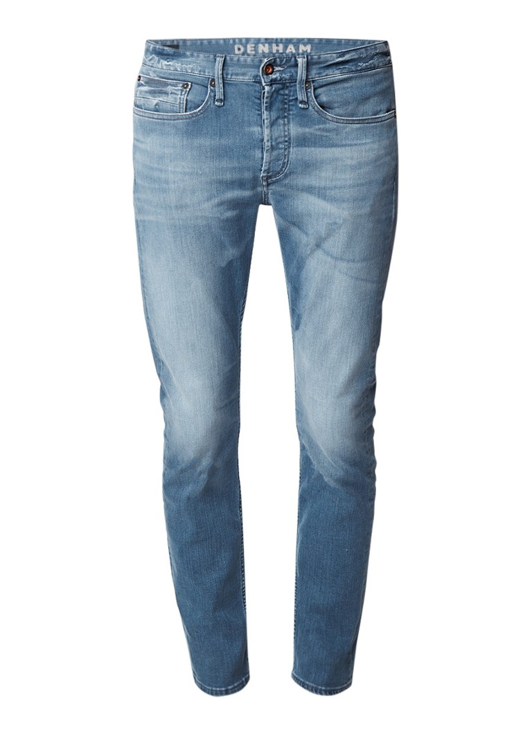 Denham Bolt low rise straight fit jeans