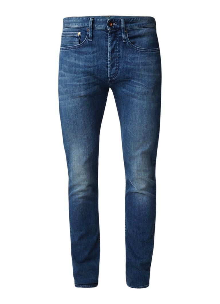 Denham Bolt mid rise skinny fit jeans met verwassen look