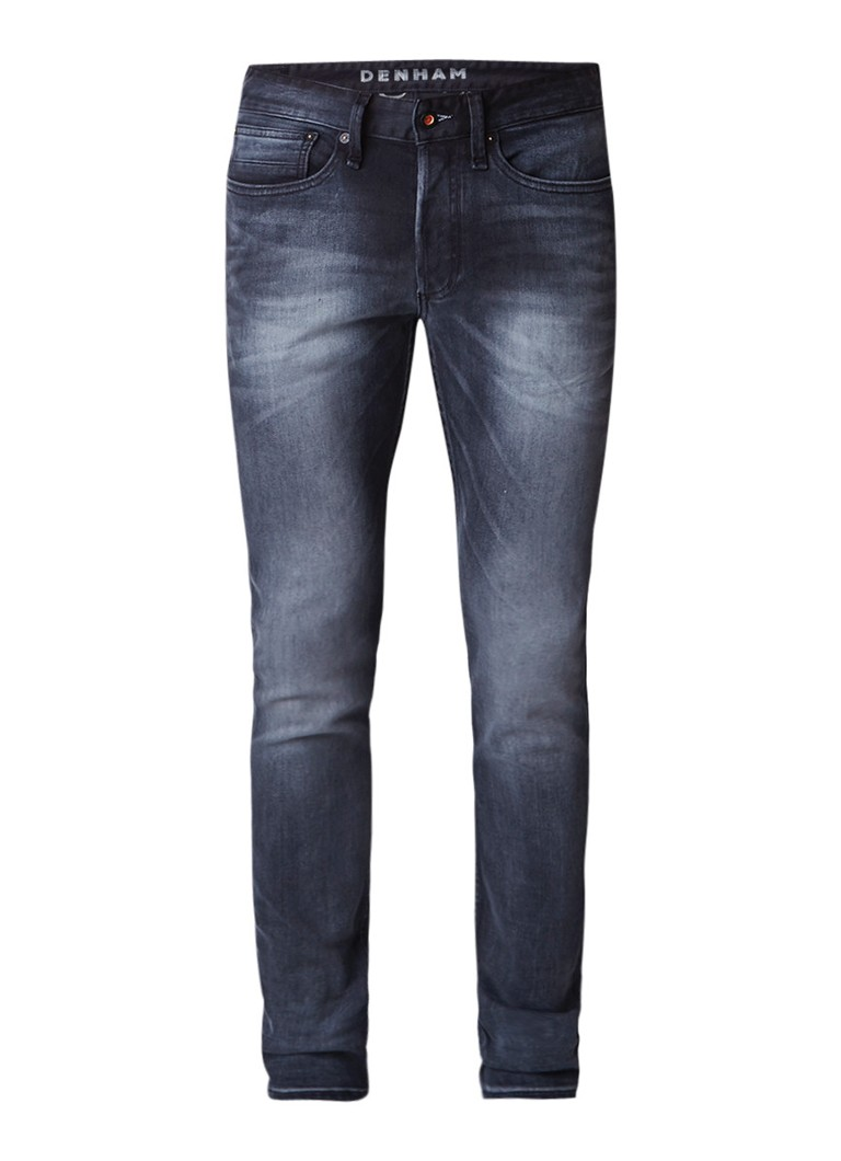 Denham Bolt mid rise slim fit jeans met stretch