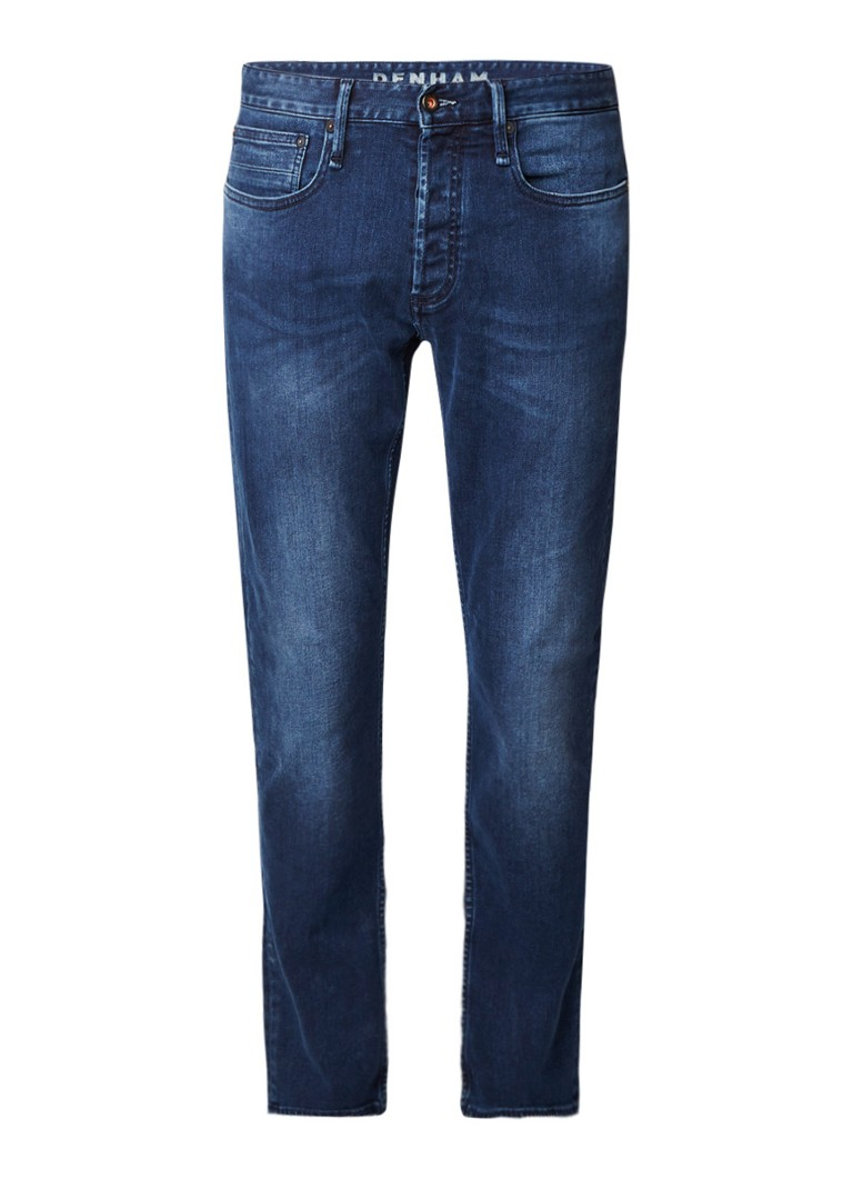 Denham Razor slim fit jeans met faded look