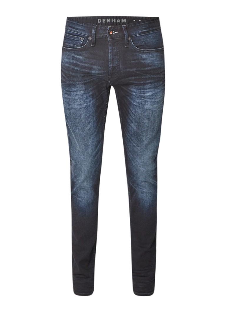 Denham Bolt mid rise skinny fit jeans met stretch