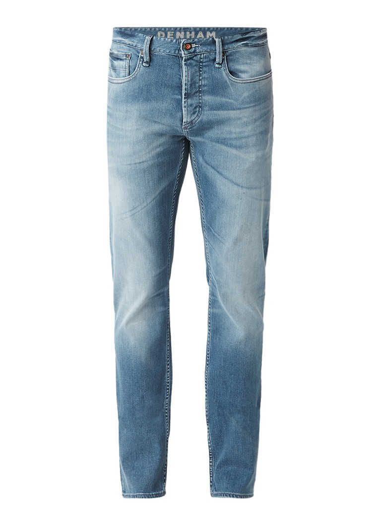 Denham Razor SZA slim fit jeans met faded look
