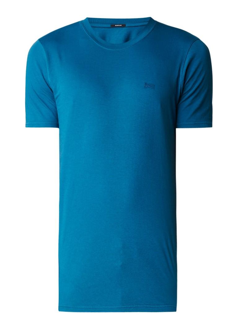 Denham T-shirt van katoen met ronde hals
