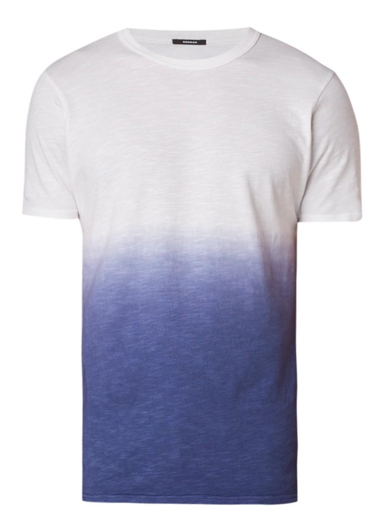 Denham Dip Dye T-shirt met kleurverloop