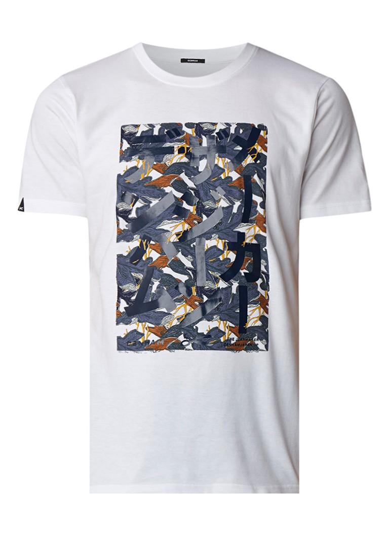 Denham Justice T-shirt met print