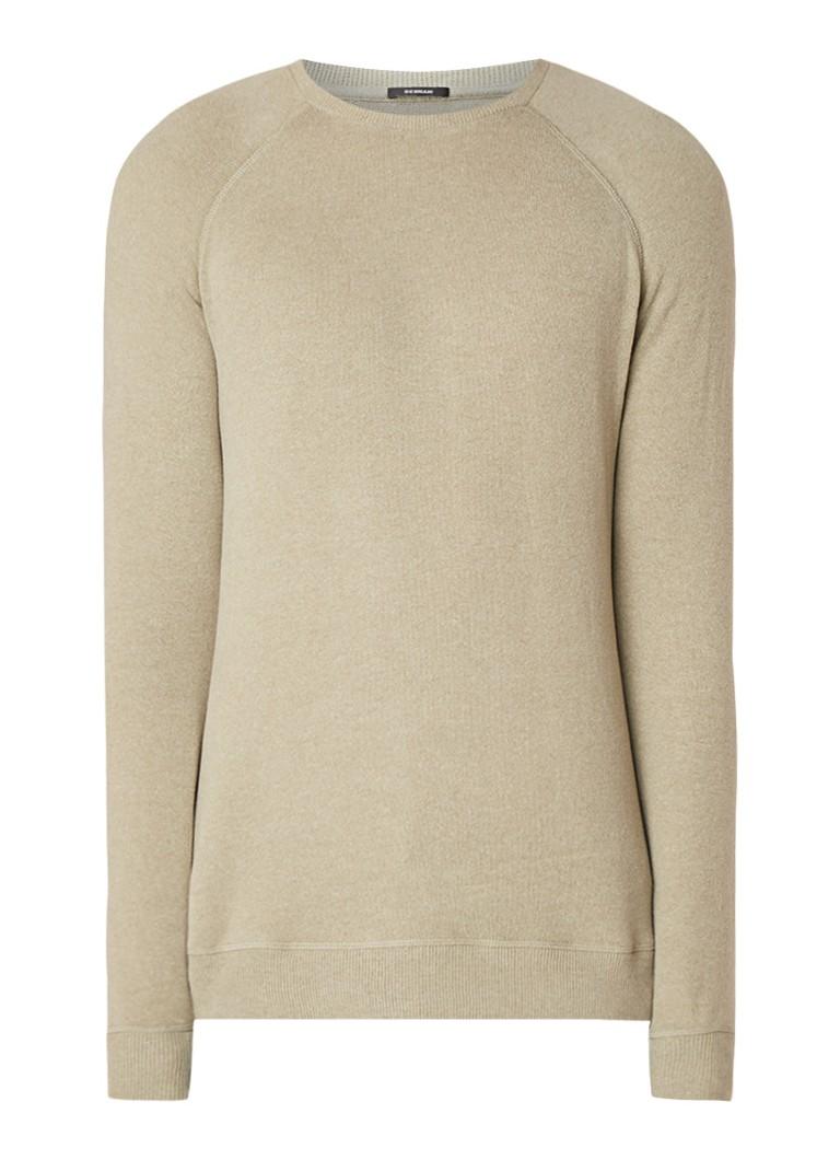 Denham JV sweater in zachte katoenblend