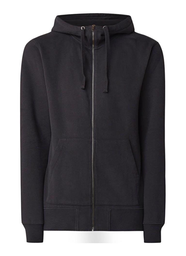 Denham Medal loose fit hoodie met zakken
