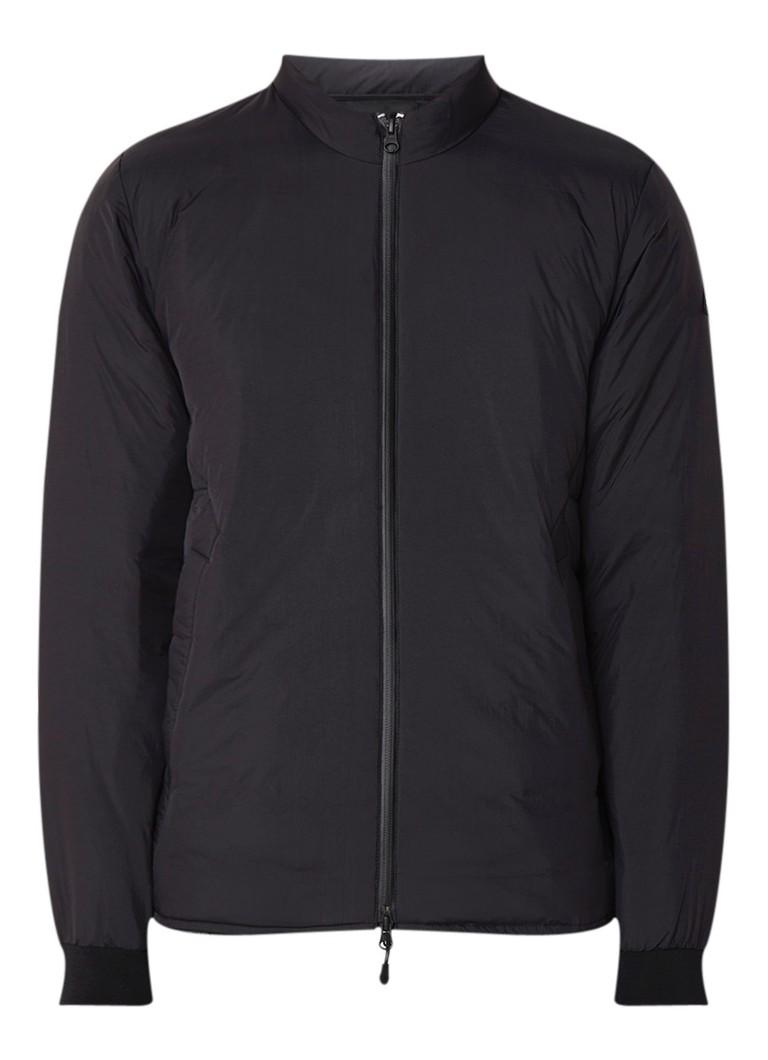 Denham Carbon lichtgewicht donsjack met ronde hals