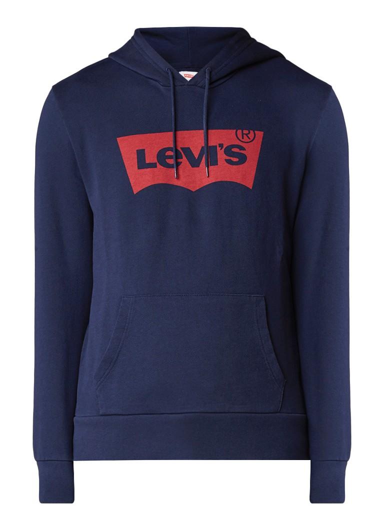 Levi's Batwing hoodie met logoprint