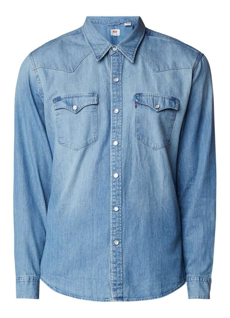Levi's Barstow Western regular fit denim overhemd