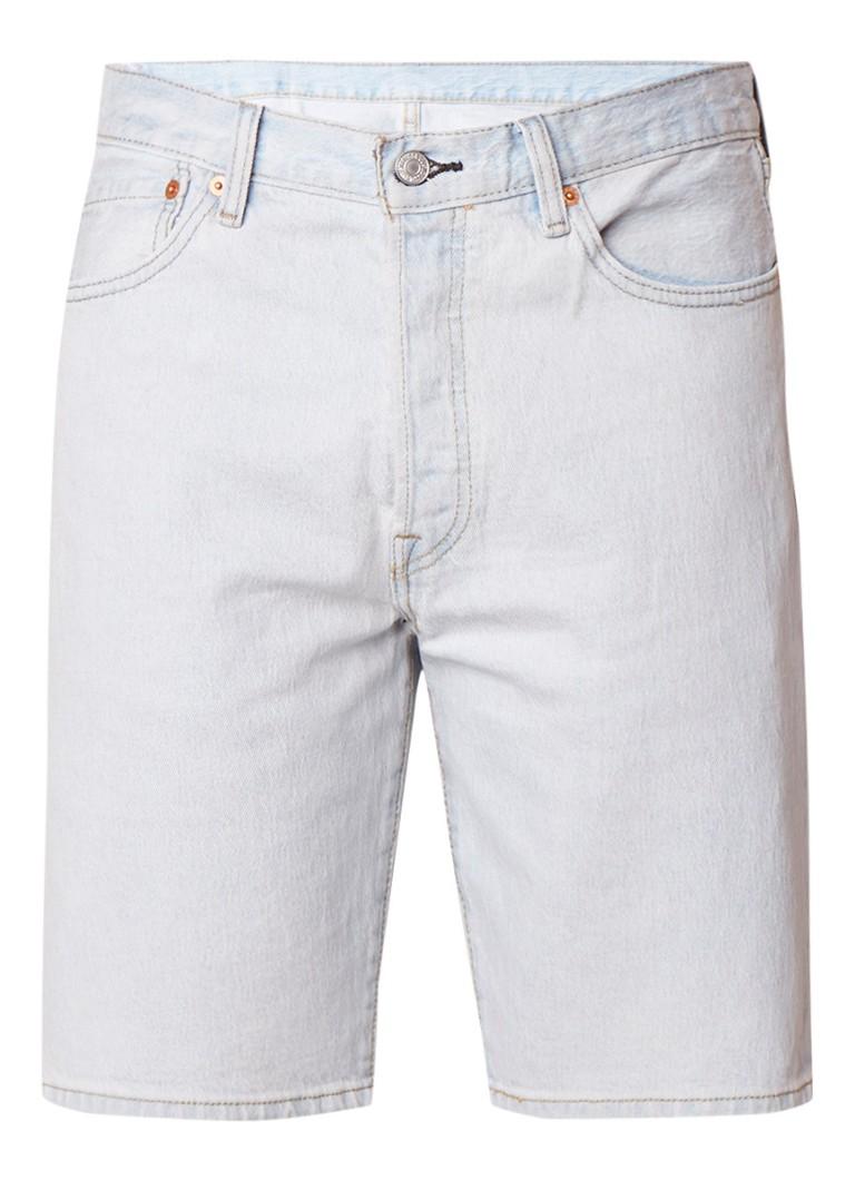 Levi's 501 high rise denim shorts met stretch