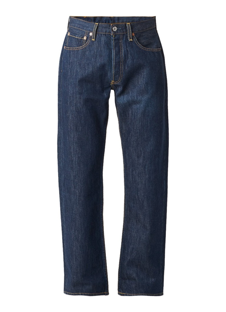 Levi's 501 straight fit jeans Marlon donkerblauw