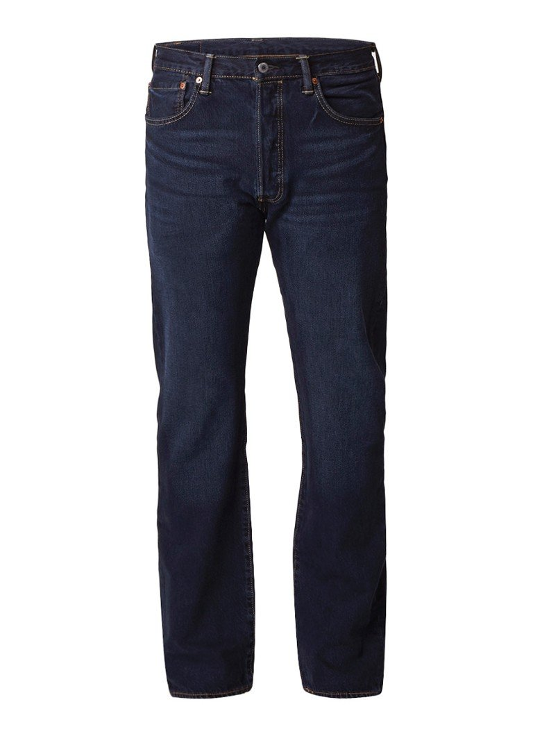 Levi's 501 Original high rise straight fit jeans