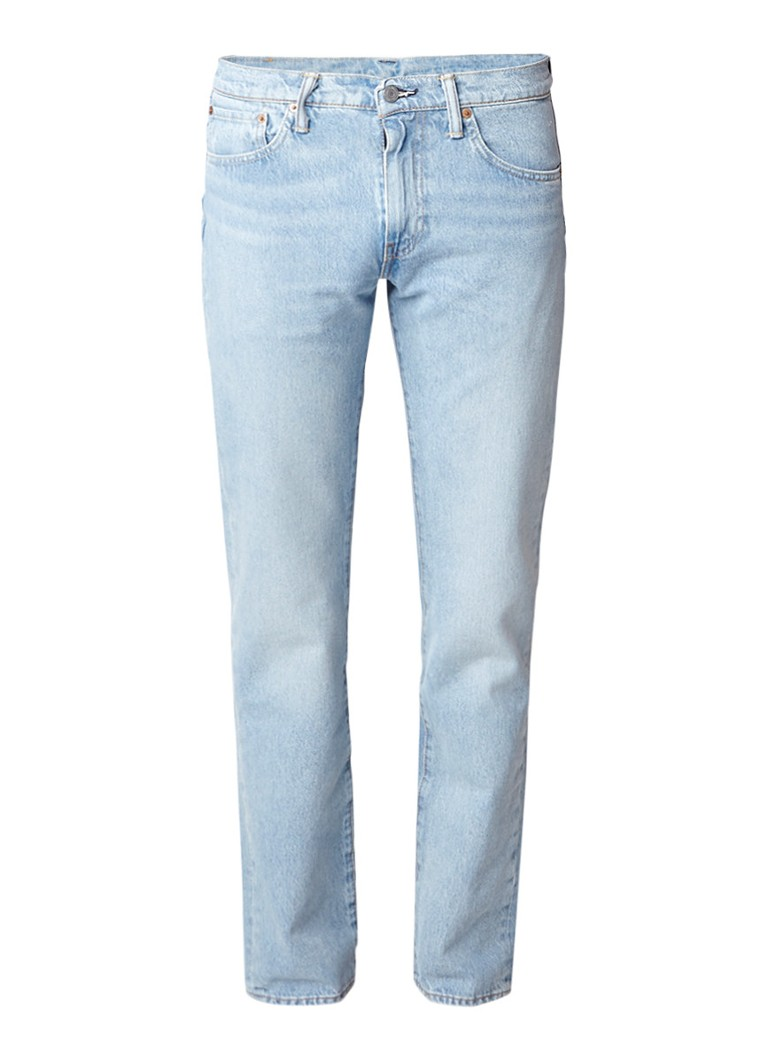 Levi's 511 mid rise slim fit jeans met lichte wassing