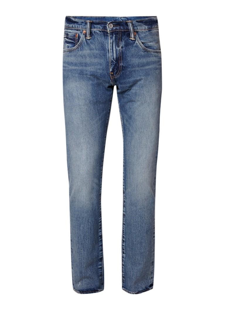 Levi's 511 mid rise slim fit jeans met vintage look