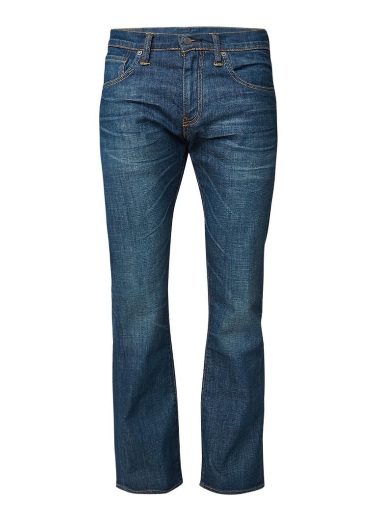 Levi's 527 mid rise bootcut jeans met vintage look