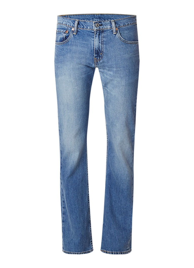 Levi's 527 faded slim bootcut jeans