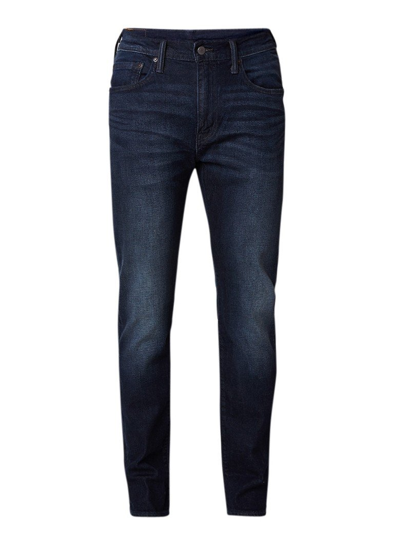 Levi's 512 high rise slim fit jeans met faded look
