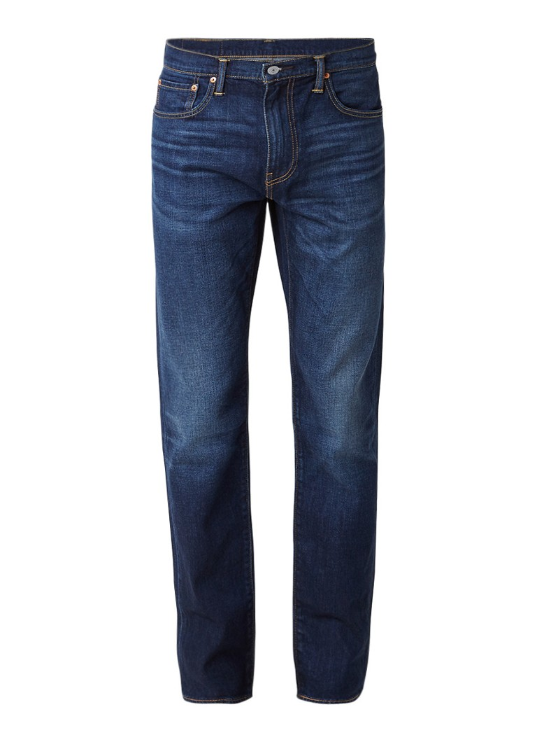 Levi's 502 tapered jeans van 2-way stretch denim