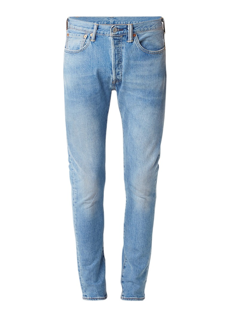 Levi's 501 high rise skinny fit jeans