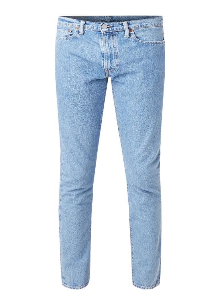 Levi's 512 Slim fit jeans met lichte wassing