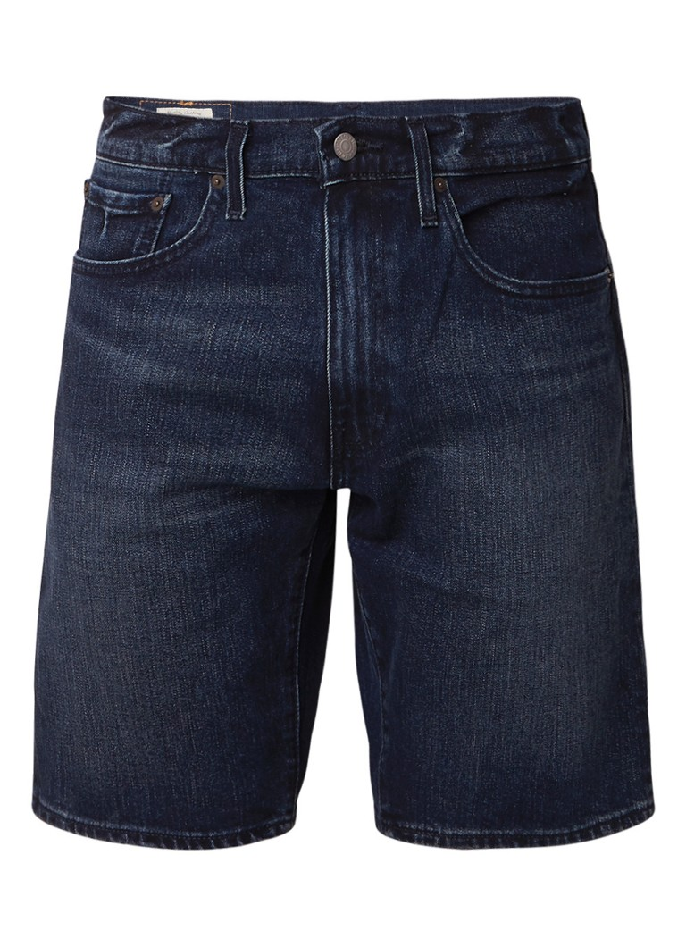 Levi's 502 regular tapered fit shorts van denim