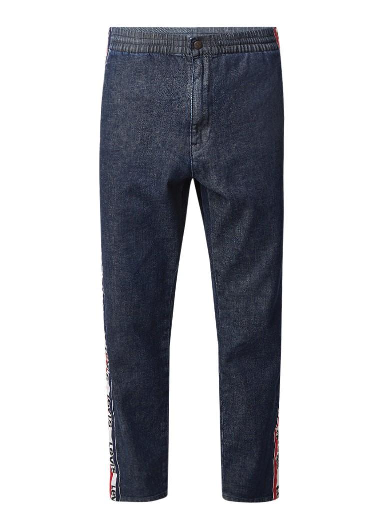 Levi's Alt denim straight fit jeans met logobies