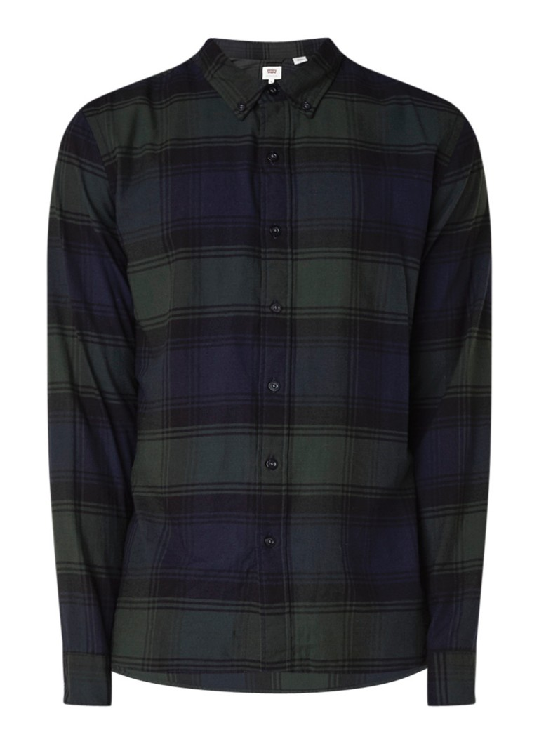 Levi's Pacific regular fit overhemd met ruitdessin