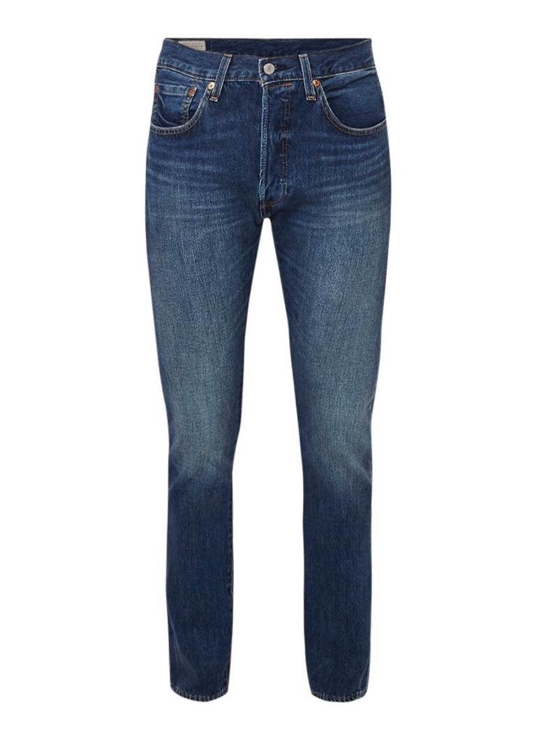 Image of Levi's 501 skinny fit jeans met stretch