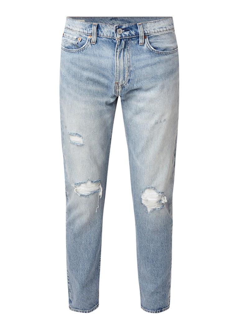 Levi's Hi-Ball Roll slim fit jeans met lichte wassing