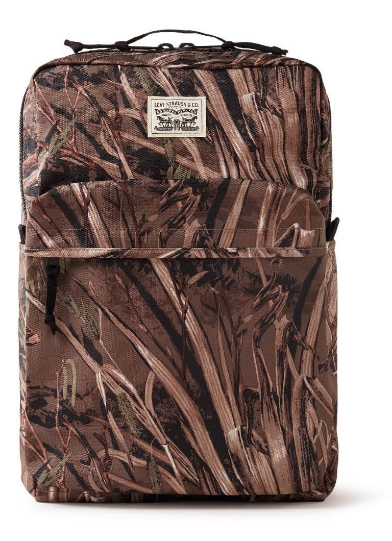 Levi's L Pack rugtas met dessin en 15 inch laptopvak