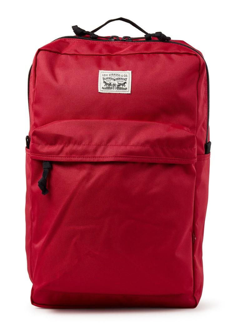 Levi's L Pack rugtas met 15 inch laptopvak