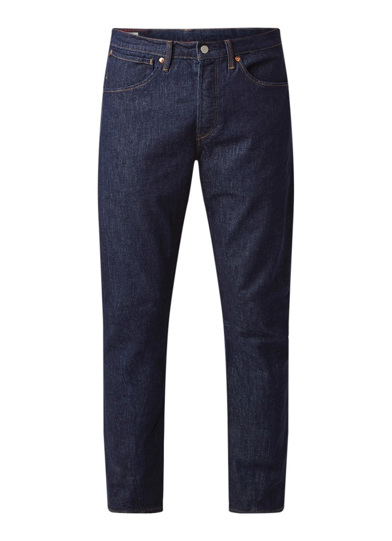 Image of Levi's 502 straight fit jeans met stretch