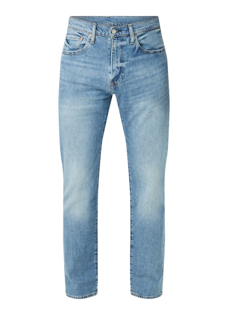 502 tapered fit jeans met stretch