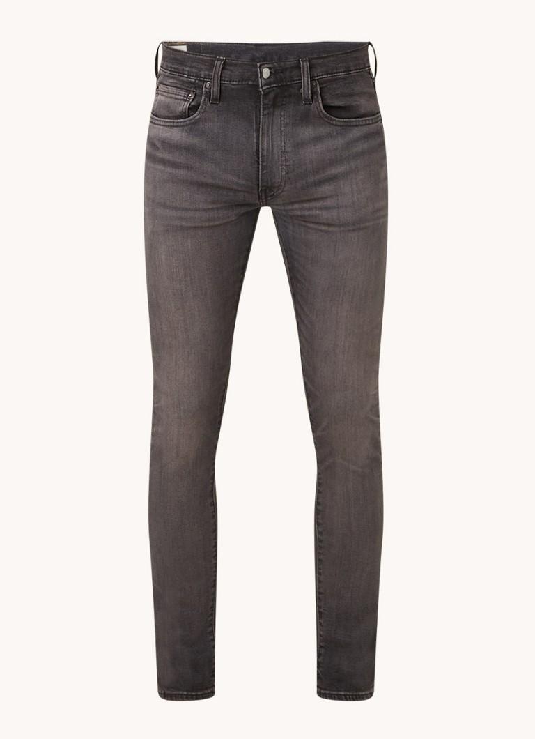 Levis Skinny fit jeans met gekleurde wassing en stretch