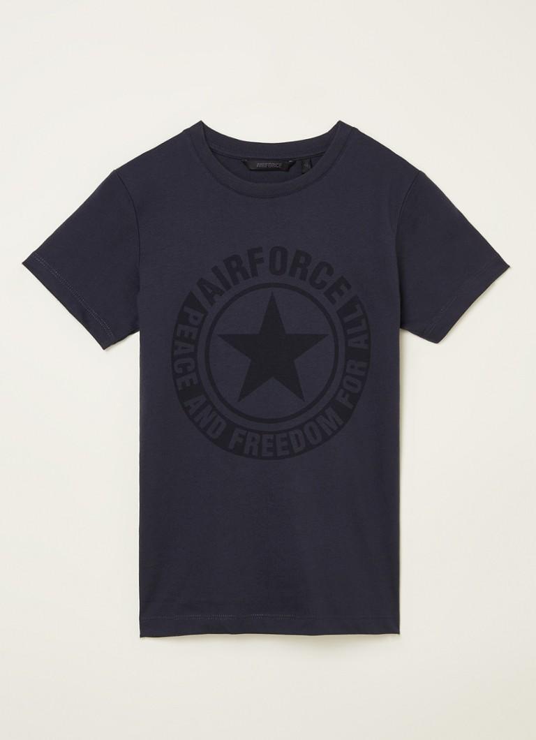 Airforce T-shirt met logoprint