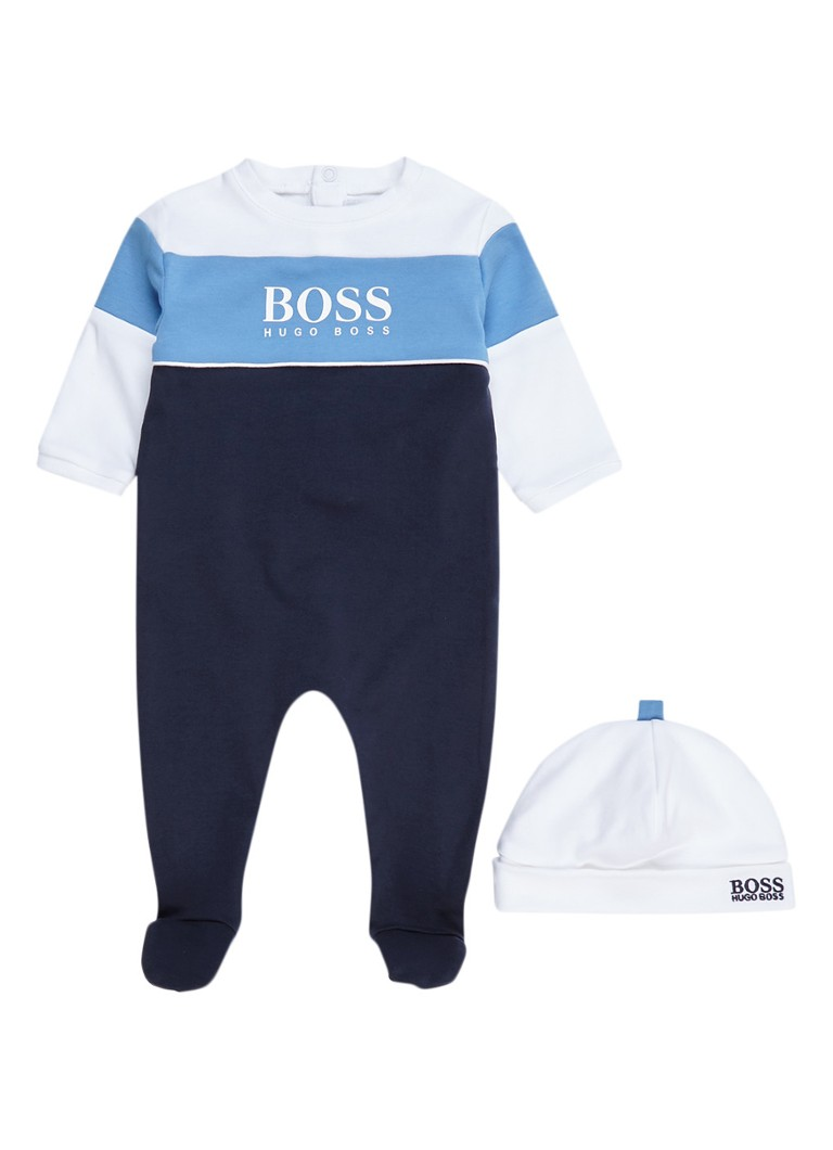 HUGO BOSS Pyjamaset met muts in giftbox