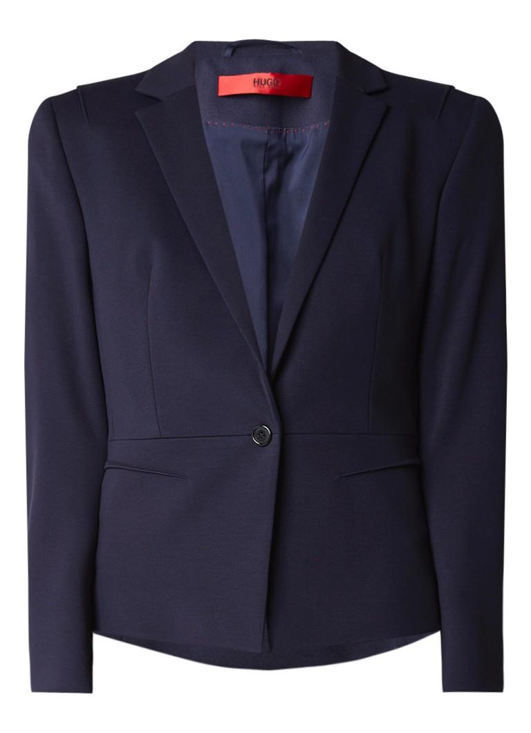 HUGO BOSS Arubi getailleerde blazer met stretch