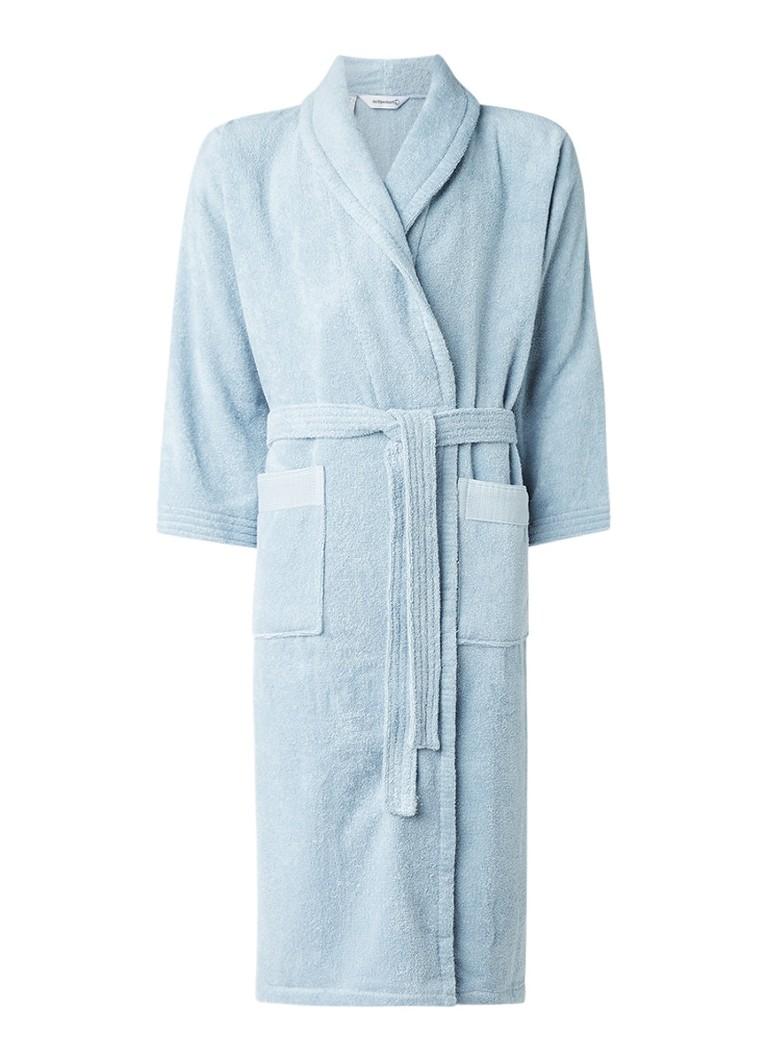 de Bijenkorf Home Organic badjas van biologisch katoen