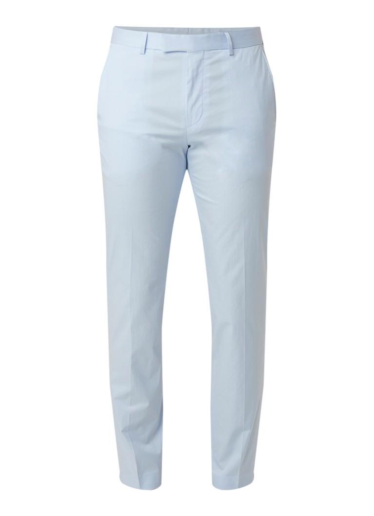HUGO BOSS Heiron slim fit pantalon van katoen met stretch