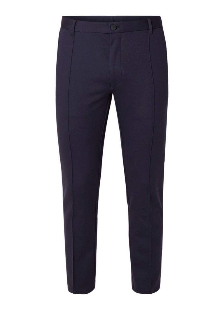 HUGO BOSS Slim fit pantalon met stretch