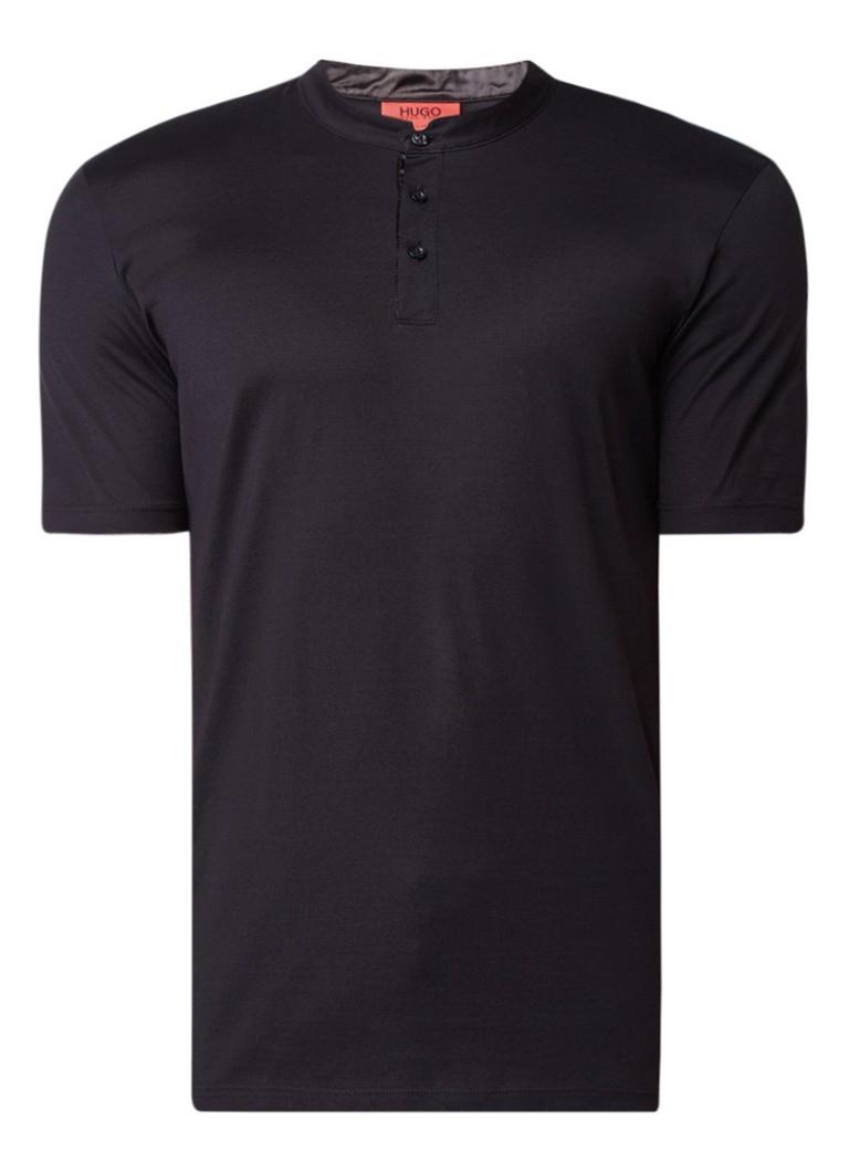 HUGO BOSS Daspen T-shirt met knopen