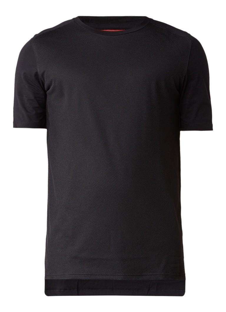 HUGO BOSS Dalone T-shirt met mesh