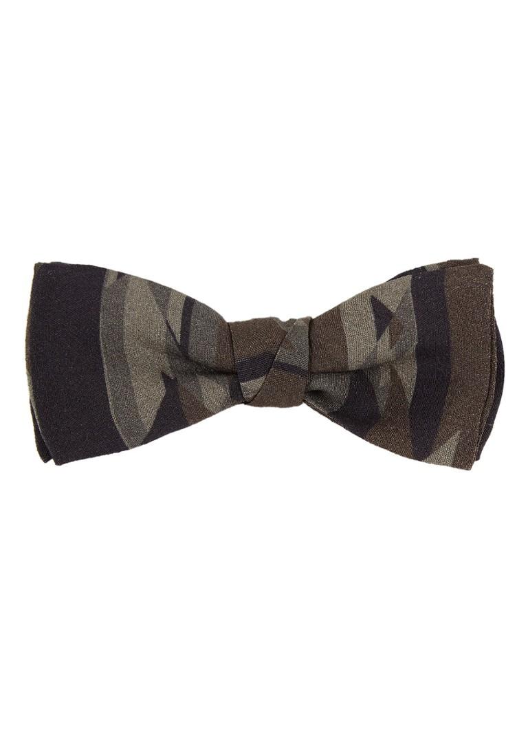 HUGO BOSS Stropdas met camouflage print