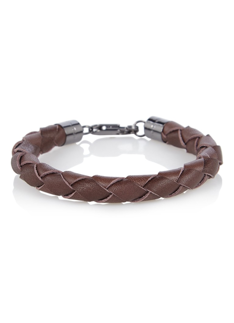 HUGO BOSS E-Cuir armband van kalfsleer