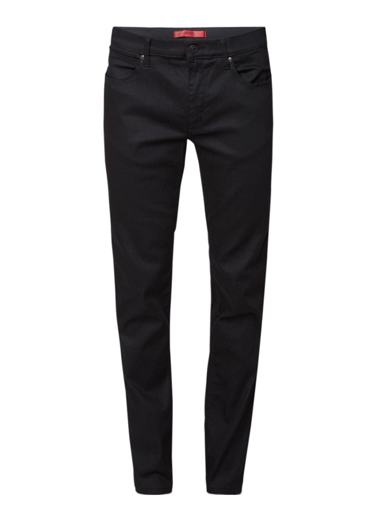 Image of HUGO BOSS 708 slim fit jeans met donkere wassing