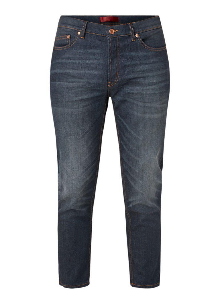 HUGO BOSS Hugo 332 mid rise tapered fit cropped jeans