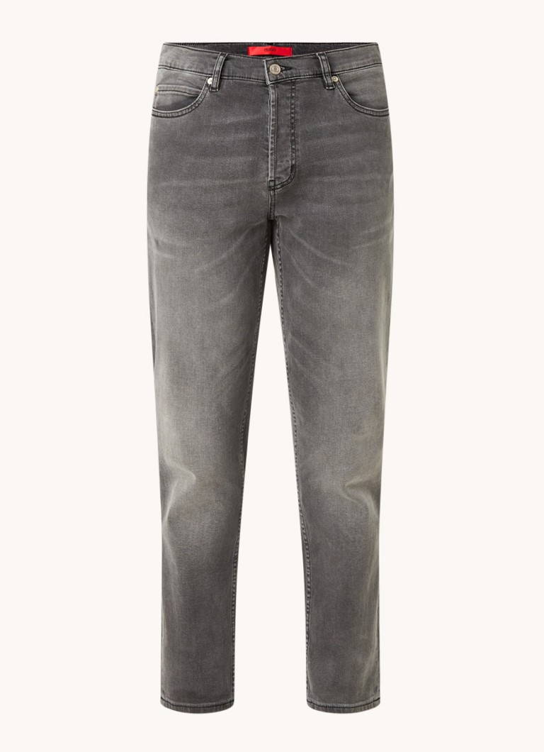 HUGO tapered fit 5-pocket jeans